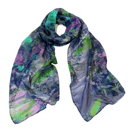women - SCARVES AND LONG SCARVES - Devorè MF0003VY Fulgore