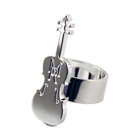 women - ACCESSORIES - SILVER SCARF RINGS PF0005PF01 Violino