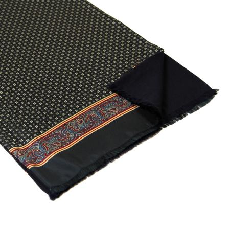 men - SCARVES - Silk lined in wool SE0001LA Amedeo