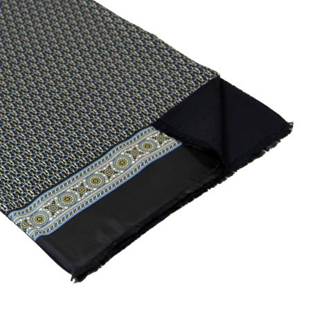 men - SCARVES - Silk lined in wool SE0004LA Tiepolo