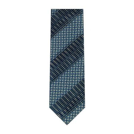 men - TIES - Pleated TI0004PL 100% seta plissè realizzata a mano in Italia