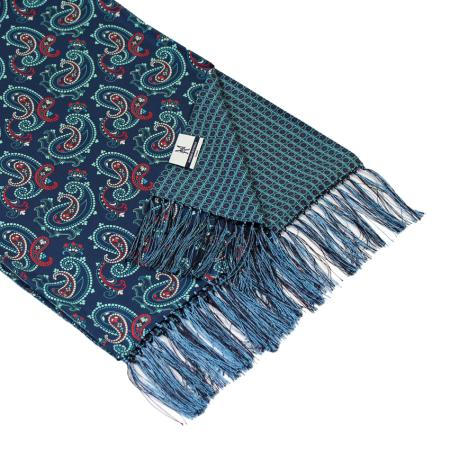 men - SCARVES - DOUBLE SILK UM0002 Sciarpa in twill di seta doppiata 35x180 cm Made in Italy