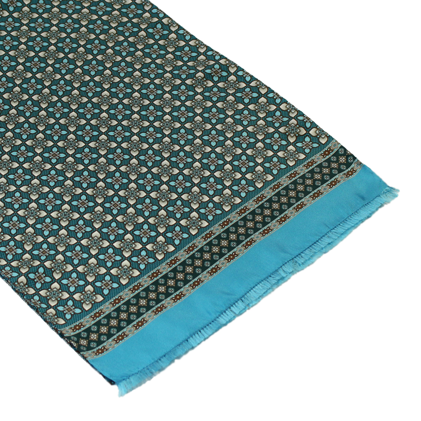 men - SCARVES - SILK Artemisia Azzurro