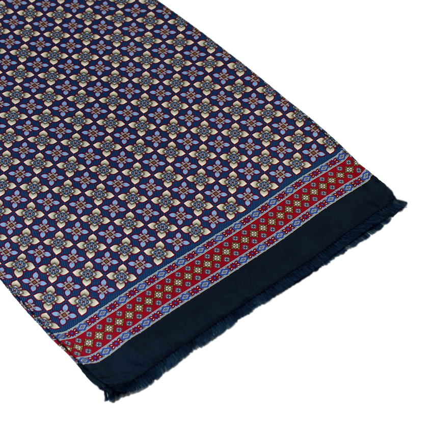 men - SCARVES - SILK Artemisia Blu