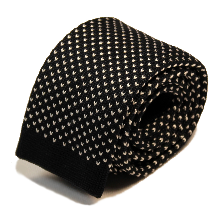 men - TIES - KNITTED Augusto Nero