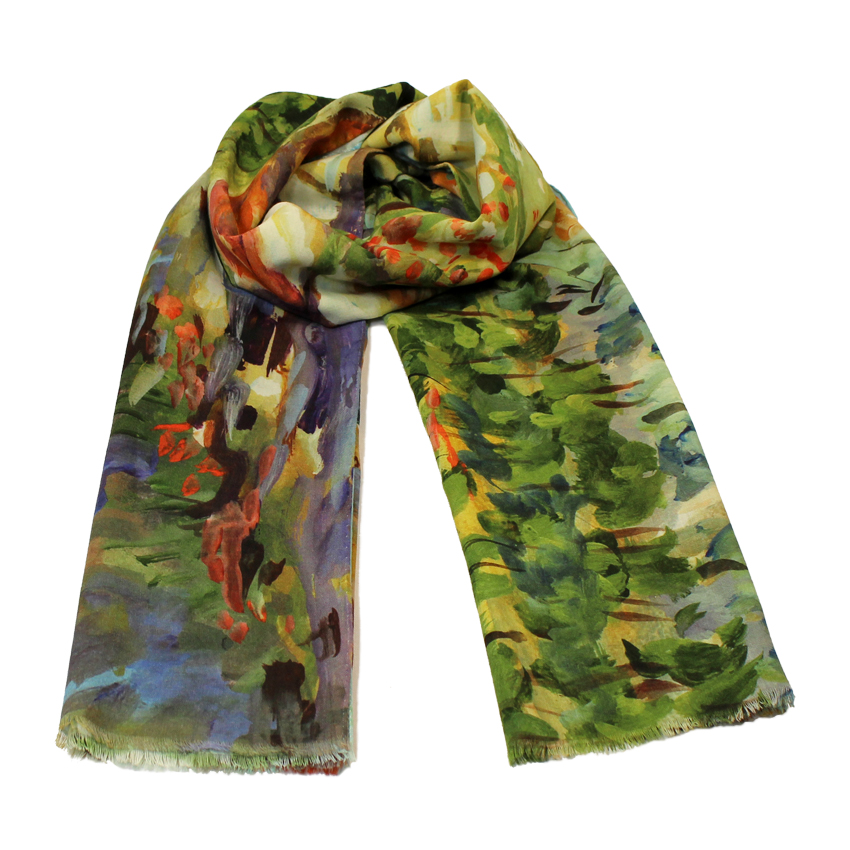 women - SCARVES AND LONG SCARVES - 70x200 WOOL Campagna Toscana Campagna Toscana