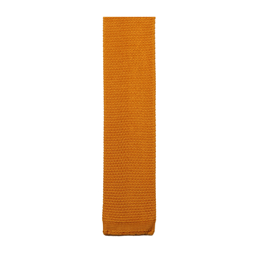 men - TIES - KNITTED Cesare Giallo