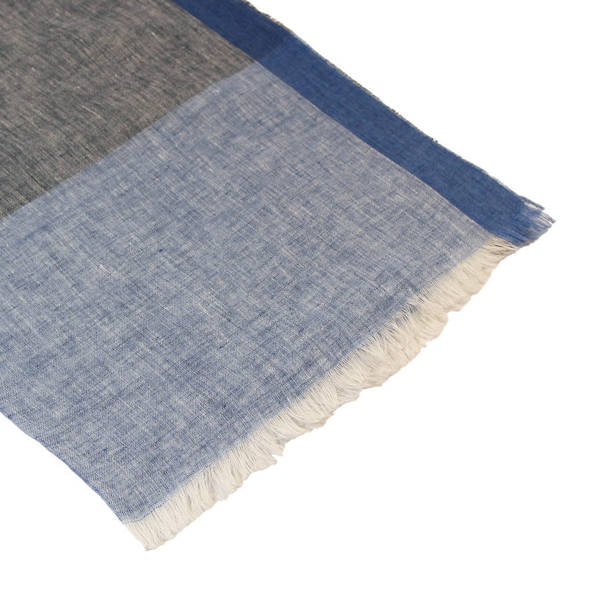 women - SCARVES AND LONG SCARVES - 80x200 Linen Colombina Grigio Celeste