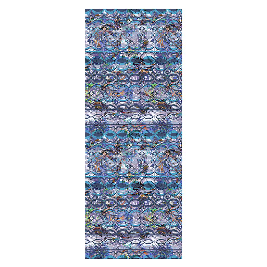women - SCARVES AND LONG SCARVES - 70X180 SILK Gioioso Blu