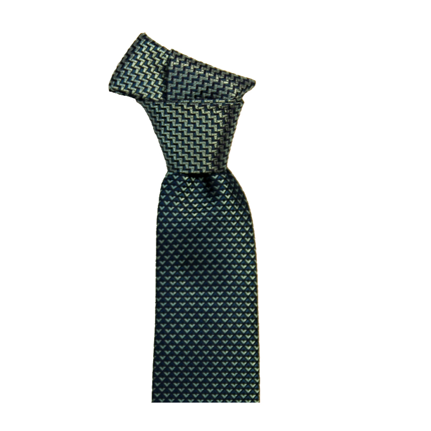 men - TIES - Palacodino Jacquard Mameli Acqua Marina