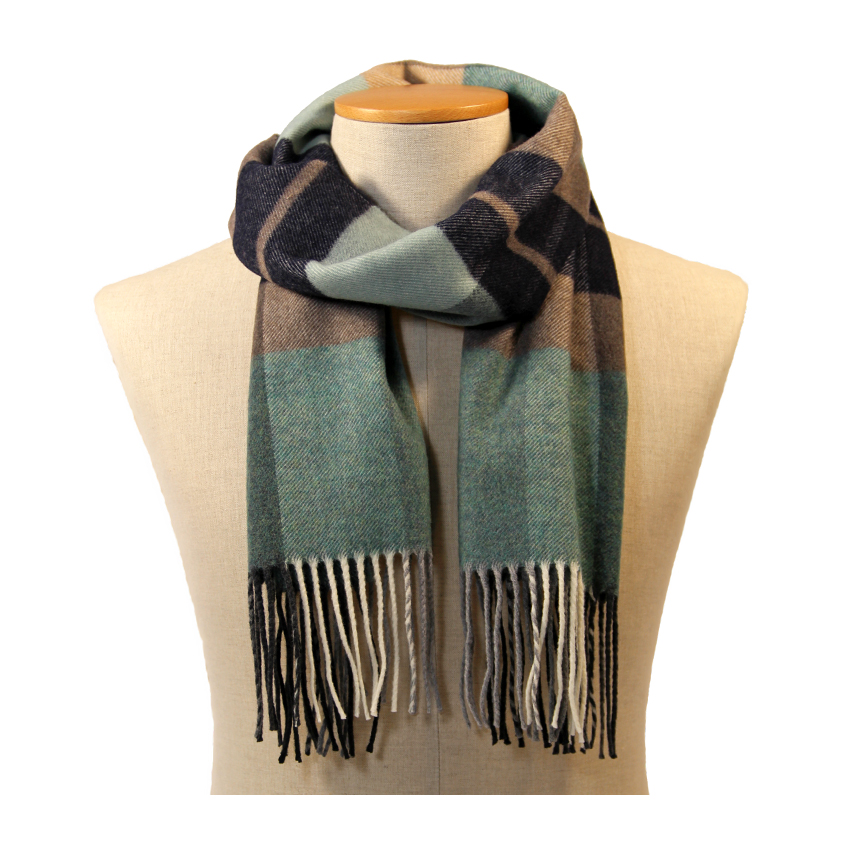 men - SCARVES - WOOL Ottaviano Verde