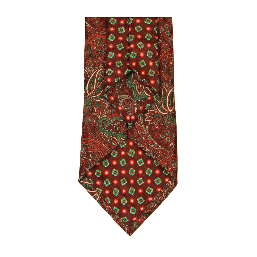 men - TIES - Printed Palacodino Platone Bordeaux