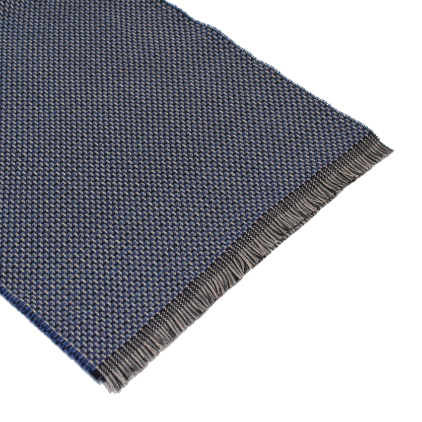 men - SCARVES - WOOL Raffaele Blu